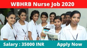 WBHRB nurse recruitment 2020